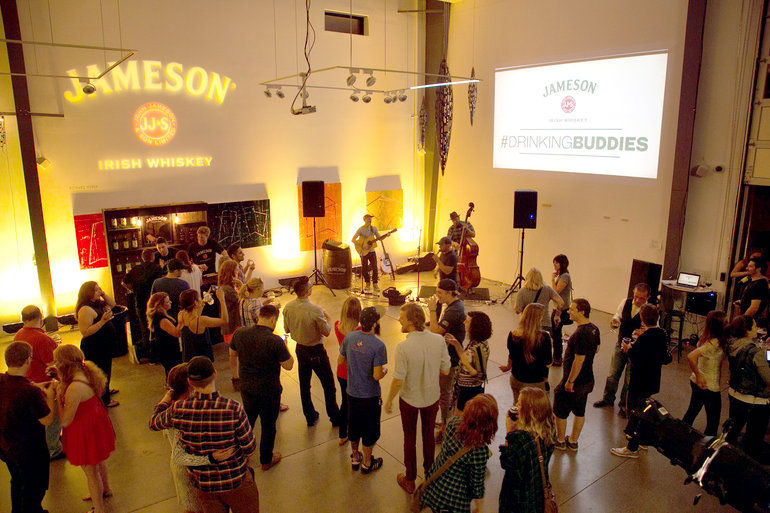 Each brewery hosted a tasting of all the beers, along with Jameson's whiskey wares. (Courtesy Great Divide)