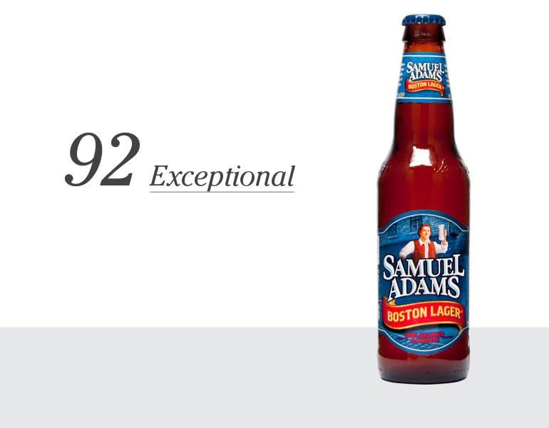 Samuel Adams Boston Lager – 92 (Exceptional)