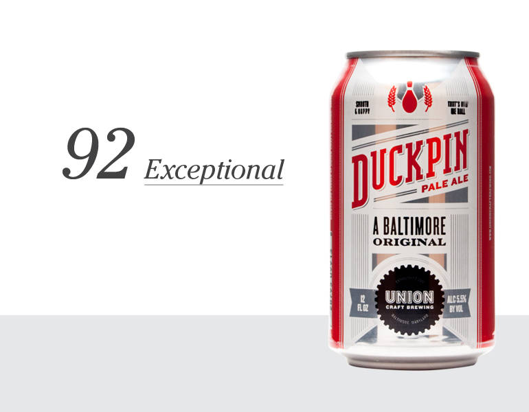 Duckpin Pale Ale – 92 (Exceptional)