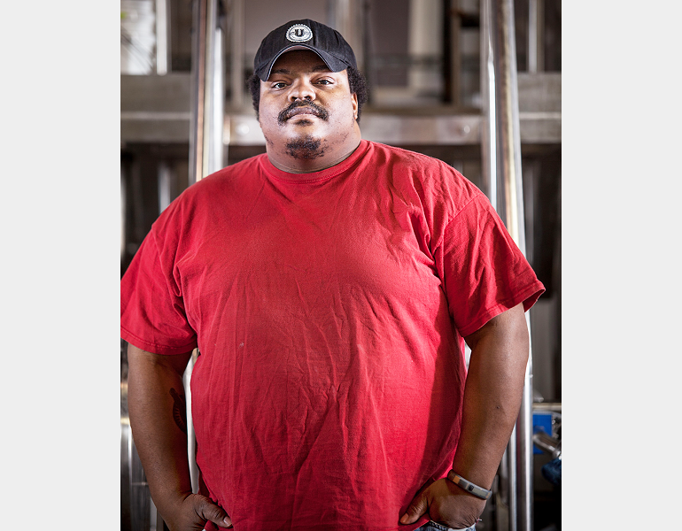 Head brewer Kevin Blodger, Union Craft Brewing