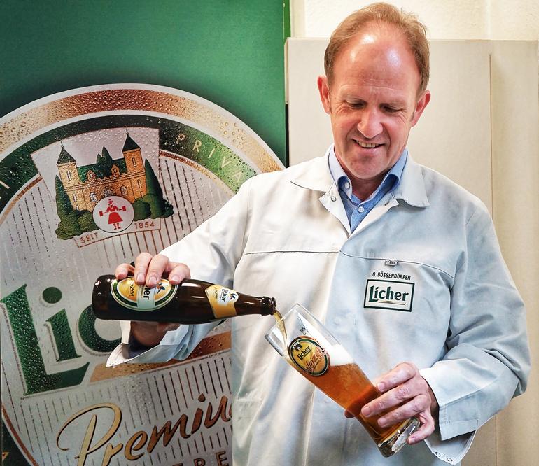 Licher Privatbrauerei Brewmaster and Head of Quality Management and Beer Production Gerhard Bößendörfer Talks Licher Weizen