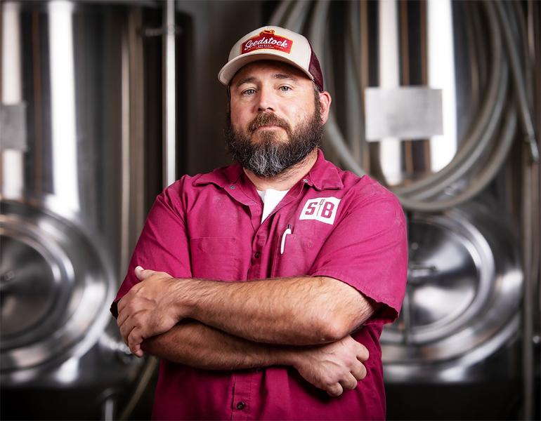 Seedstock Brewery Head Brewer Jason Abbott