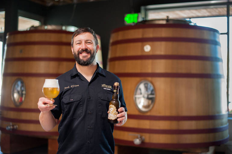 Brewery Tour: pFriem Family Brewers