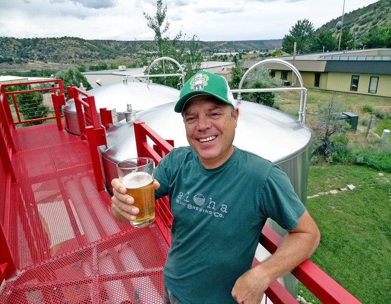 Ska brewing co-founder Dave Thibodeau celebrates 20 years of beer. (Credit: Owen Ogletree)