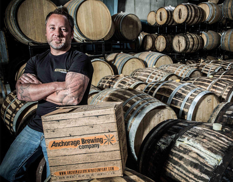 Anchorage Brewing Co. Founder Gabe Fletcher (Photo Courtesy of Anchorage Brewing)