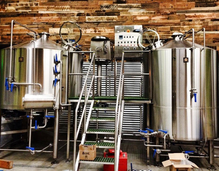 Stainless Steel Fermenters at Anchorage Brewing Co. (Photo Courtesy of Anchorage Brewing)