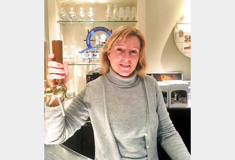 Brouwerij Martens Research and Development Manager Chantal Arkens Talks Bocholt