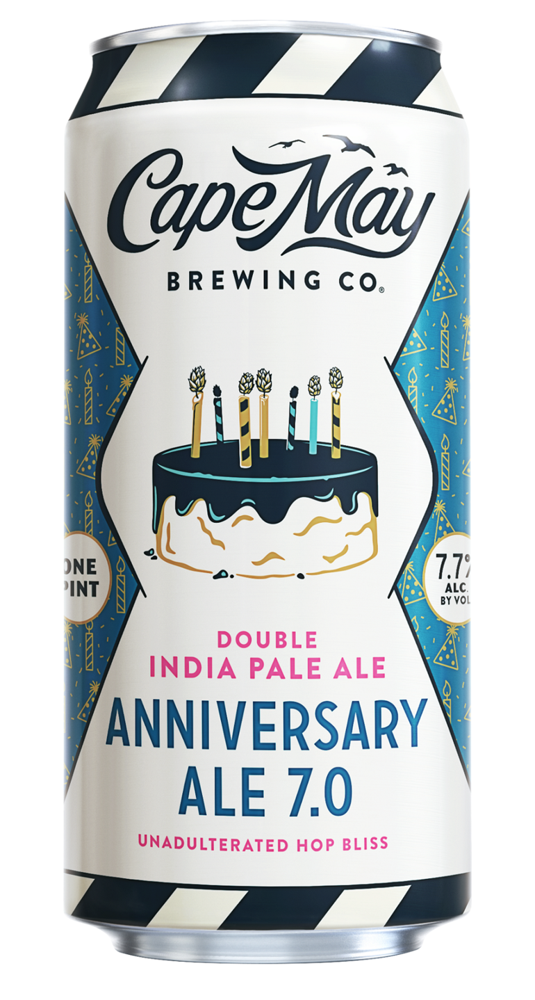 Cape May Brewing Celebrates 7th Anniversary with Two New Brews