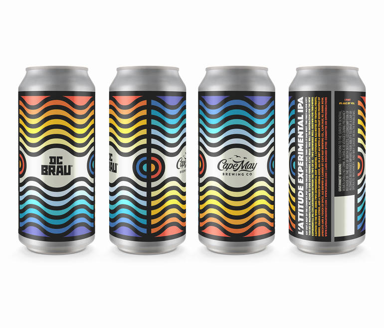 Cape May Brewing Collaborates with DC Brau on Two New Beers