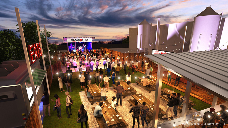Celis Brewery Announces Upcoming Beer Garden and Live Music Venue