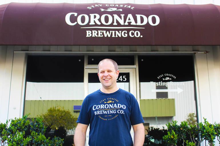 Coronado Brewing Director of Brewing Operations Shawn Steele Talks Island Vibes