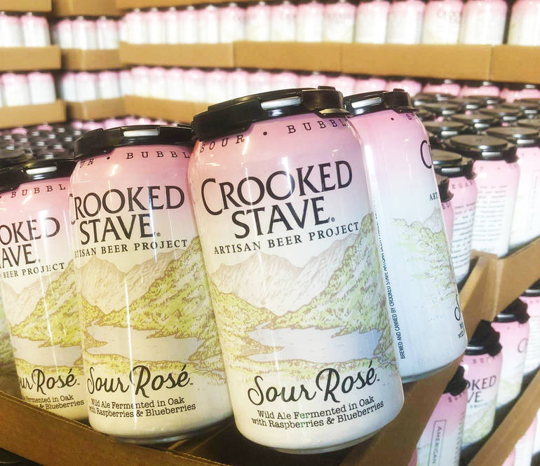 Crooked Stave Sour Rosé Returns to Cans
