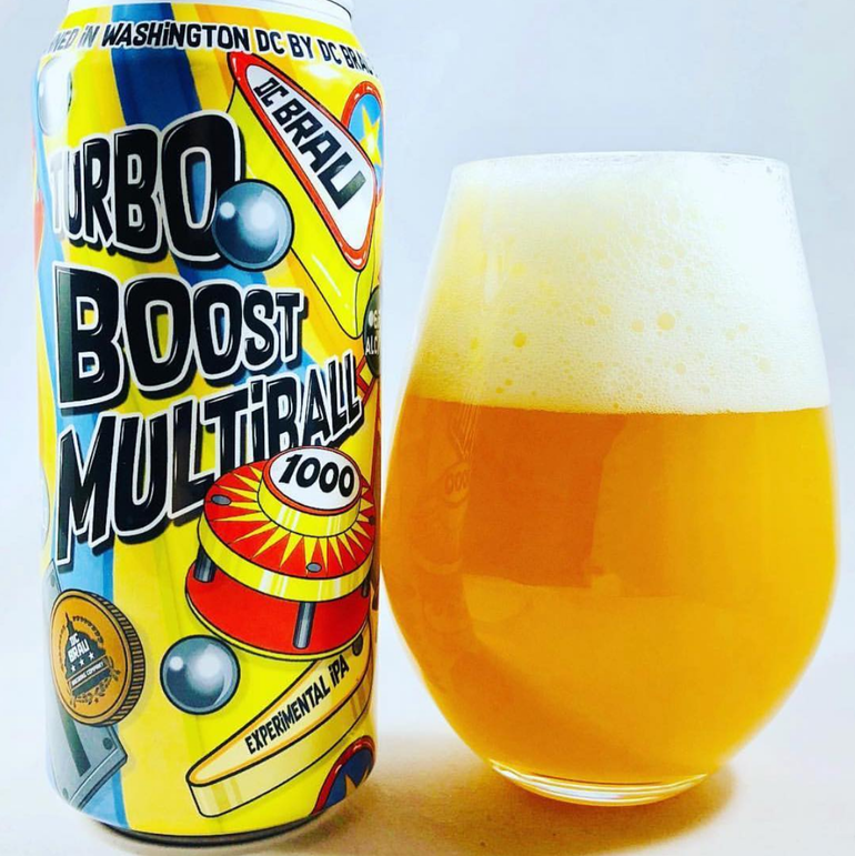 DC Brau Releases Turbo Boost Multiball IPA