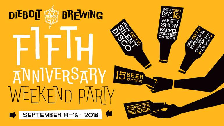 Diebolt Brewing Co. Announces 5th Anniversary Celebration