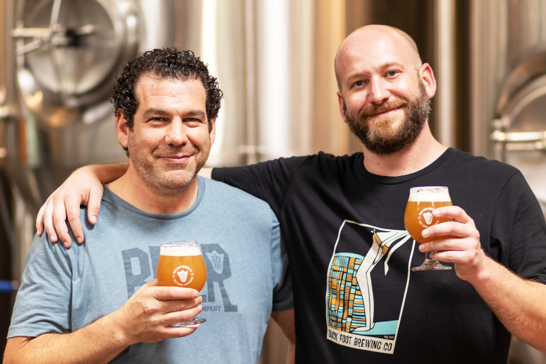 Duck Foot Brewing Co. Chief Fermentation Officer Brett Goldstock and Head Brewer Austin Copeland Talk Secret Spot