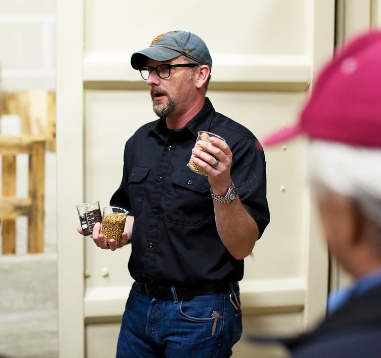 East Brother Beer Co. Head Brewer Paul Liszewski Talks Gold IPA