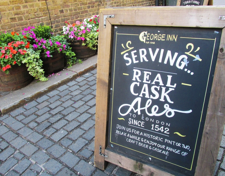 Four Historic London Pubs