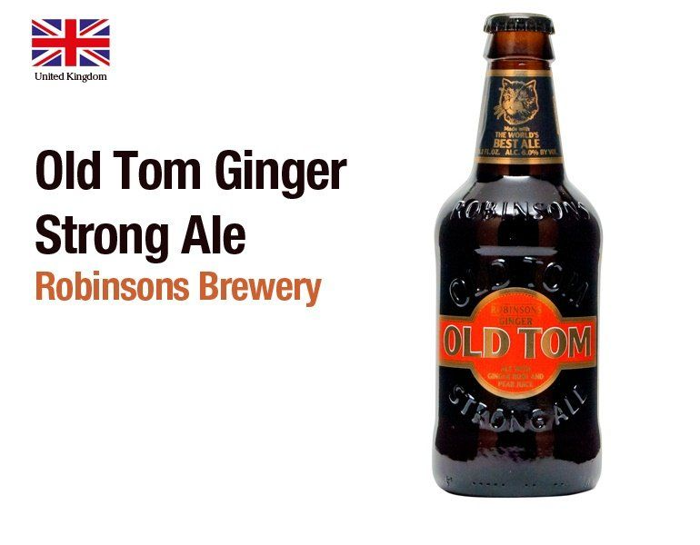 Old Tom Ginger Strong Ale by Robinsons Brewery