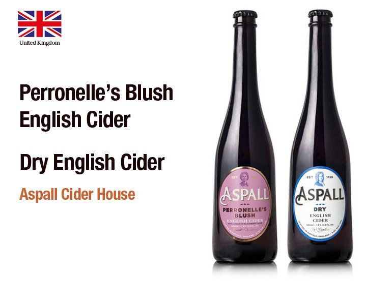 Perronelle's Blush and Dry English Cider by Aspall Cider House