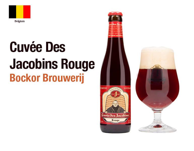 Cuvée Des Jacobins Rouge - Bockor Brouwerij