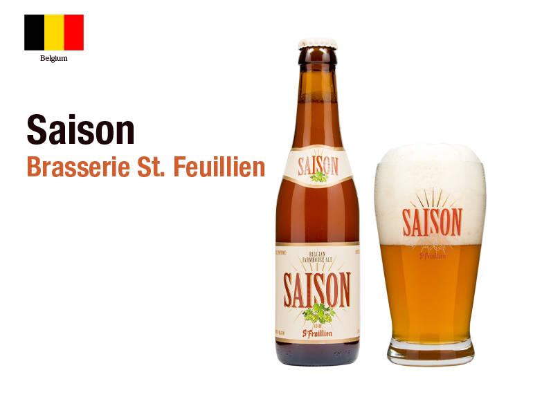 Saison - Brasserie St. Feuillien