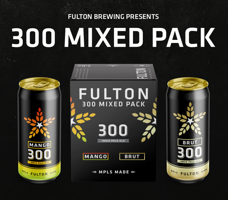 Fulton Brewing Announces Two New Variants of 300 IPA in 300 Mixed Pack
