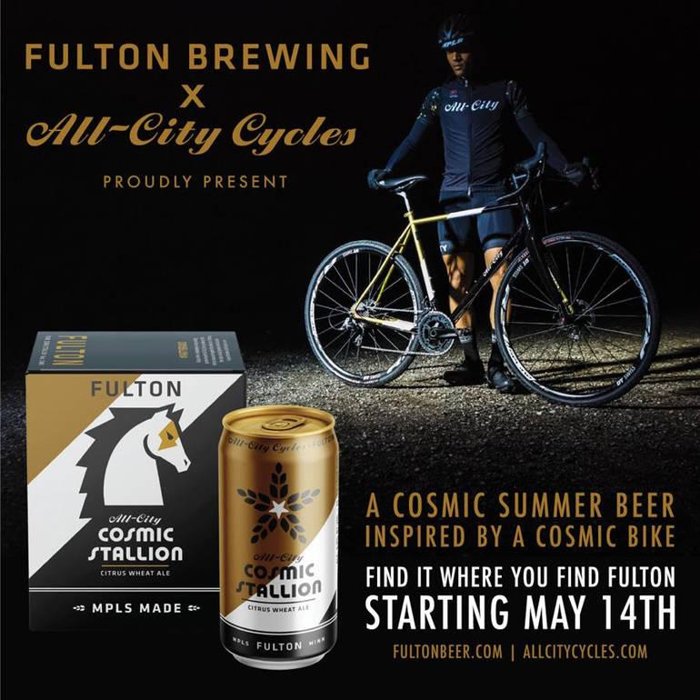Fulton Brewing Debuts Cosmic Stallion Citrus Wheat Ale
