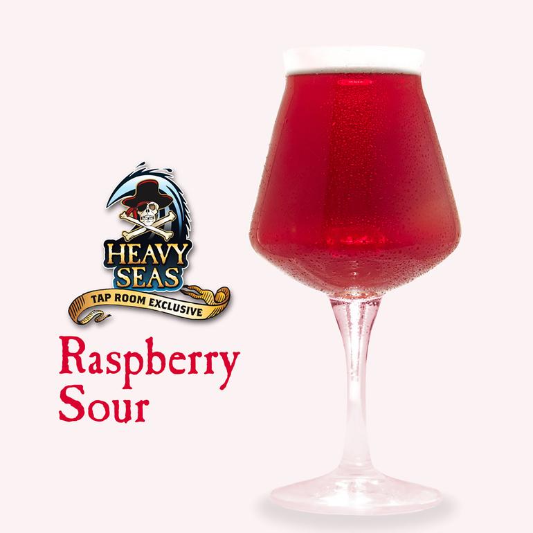 Heavy Seas Announces Draft-Only Raspberry Sour