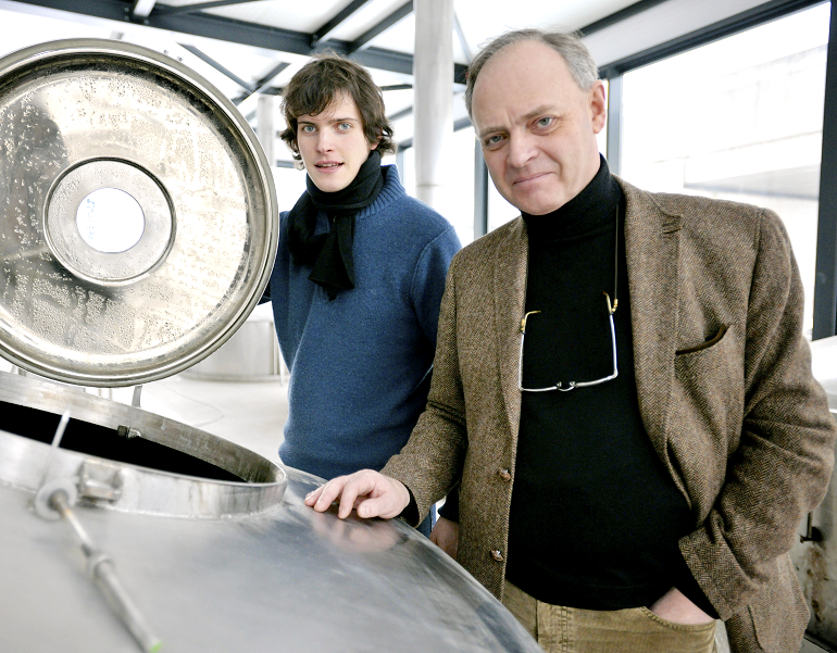 BREWER Q & A – Brouwerij Boon owner Frank Boon (Right) and his son Jos (Left)