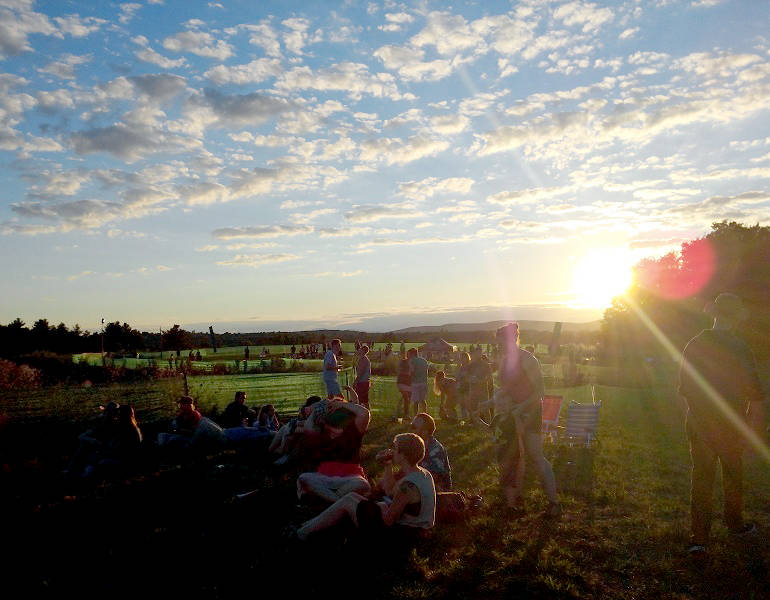 FOOD & TRAVEL – Vermont: Golden Sun and Suds