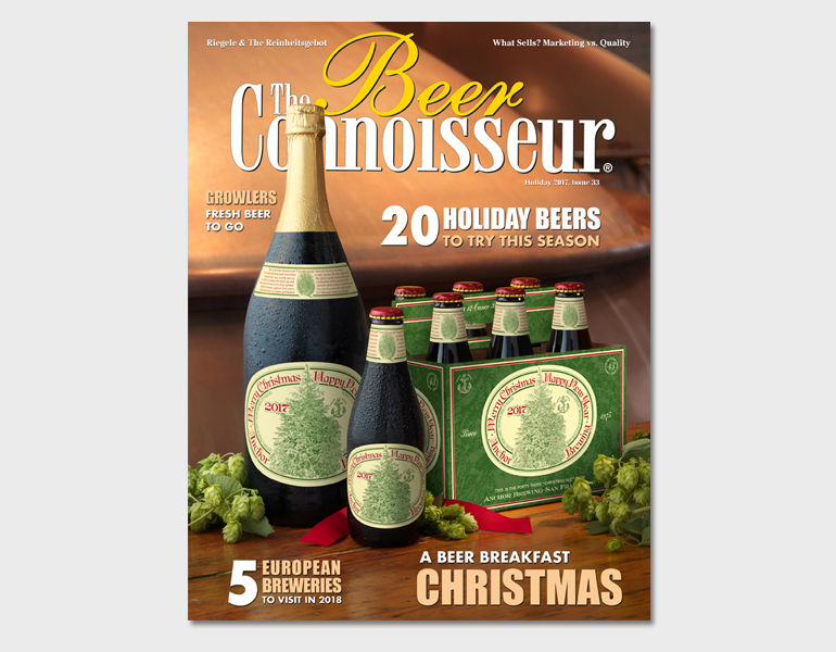 The Beer Connoisseur Holiday 2017, Issue 33