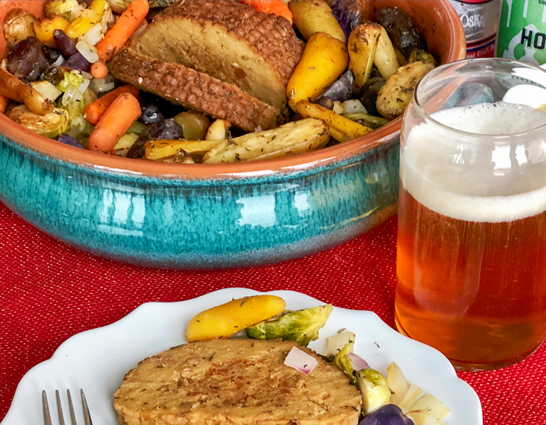Vegan Holiday Beer Feast