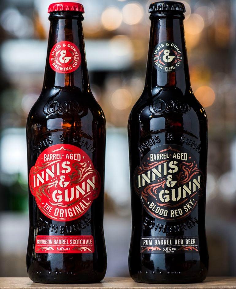 Innis & Gunn New Look After Rebrand