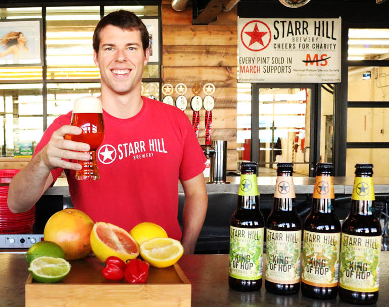 Responses from Starr Hill head brewer Robbie O'Cain.