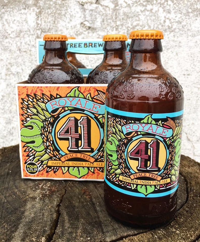 Peace Tree Brewing Releases Royale 41 Imperial IPA
