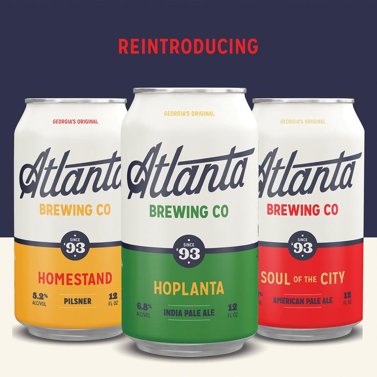 Red Brick Brewing Co. Rebrands Itself Atlanta Brewing Co.