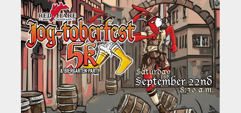 Red Hare Brewing Co. Announces Seasonal Return of Hasenpfeffer Oktoberfest, Jogtoberfest 5K Dates