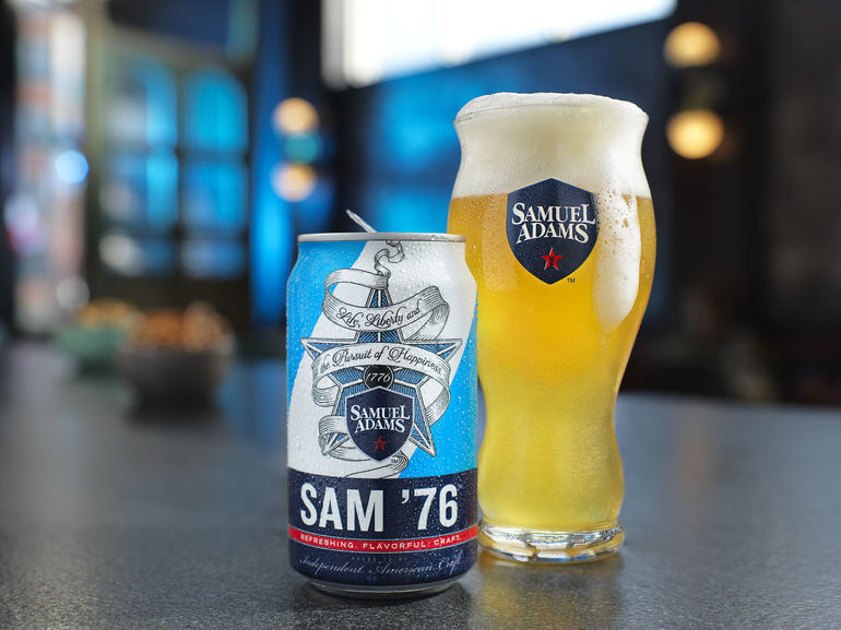 SAM 76' by the Boston Beer Company