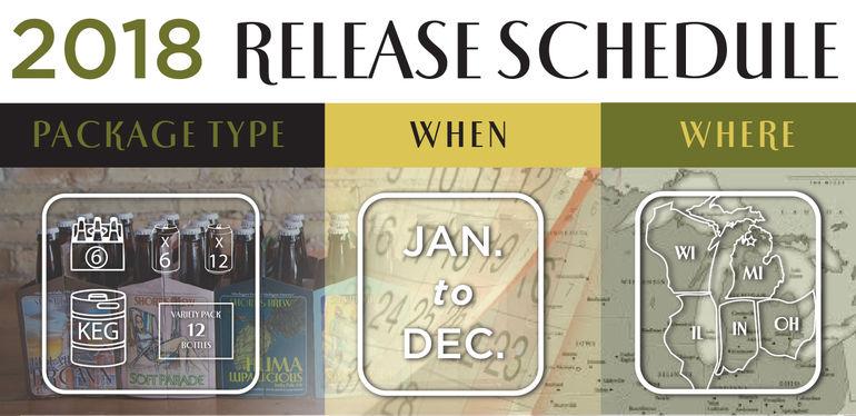 Short's Brewing Beer Release Schedule