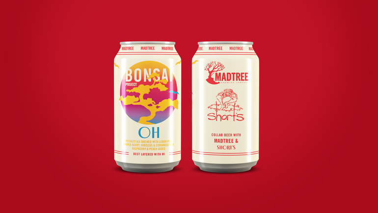 Short's Brewing Co. and MadTree Brewing Co. Collaborate on Bonsai Project Series