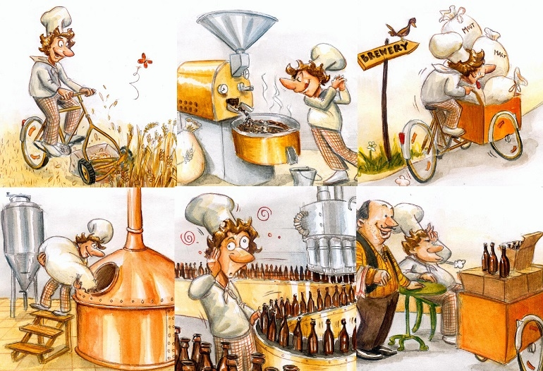 THE EUROPEAN REPORT – Building a B.O.M. (Illustrations Courtesy: B.O.M. Brewery)