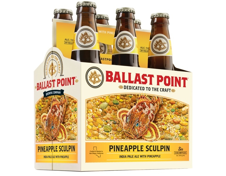 SPRING SEASONALS & HOT NEW RELEASES – Pineapple Sculpin by Ballast Point