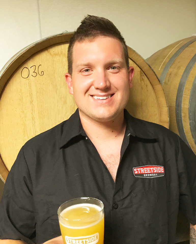 Streetside Brewery Managing Brewer Garrett Hickey Talks Little Balls of Blue