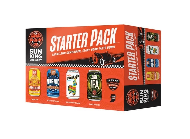 Sun King Brewing Unveils Starter Pack Mixed 12-Pack
