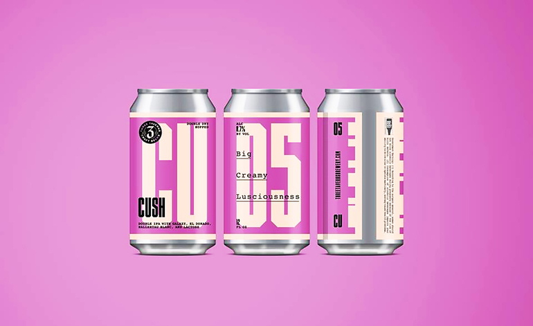 Three Taverns Brewery Debuts Cush Dry-Hopped Hazy IPA