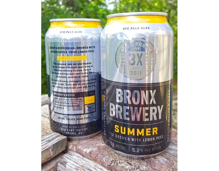SEASONALS & HOT NEW RELEASES – Summer Ale by Bronx Brewery