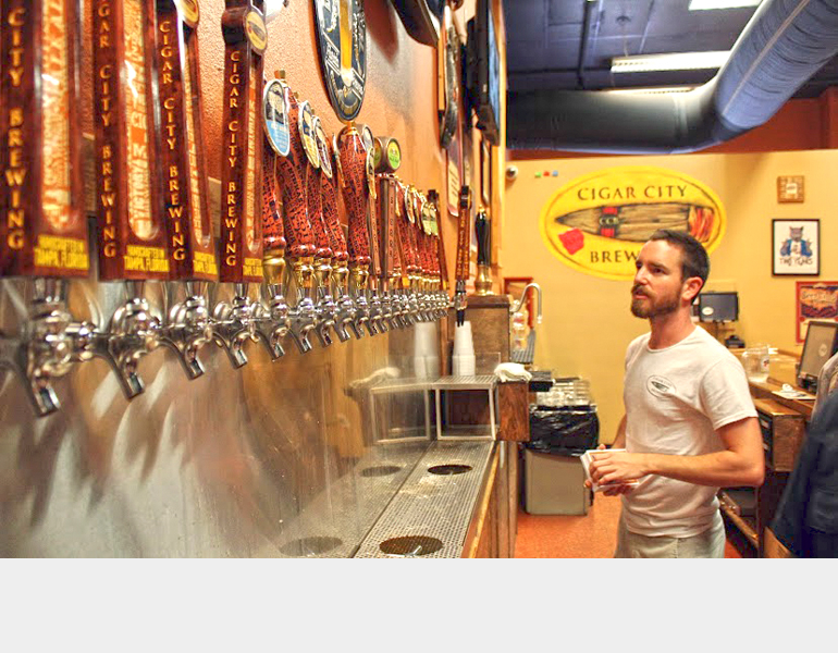 FEATURES – Connoisseur's Corner: Cigar City Brewing Lights Up Tampa