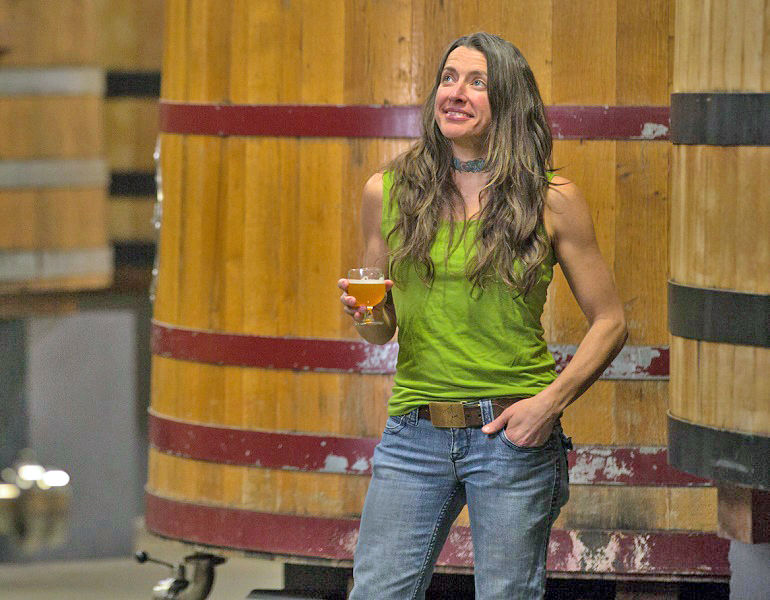 BREWER Q & A – Lauren Salazar, wood cellar blender at New Belgium. (Photo Credit: New Belgium Brewing)