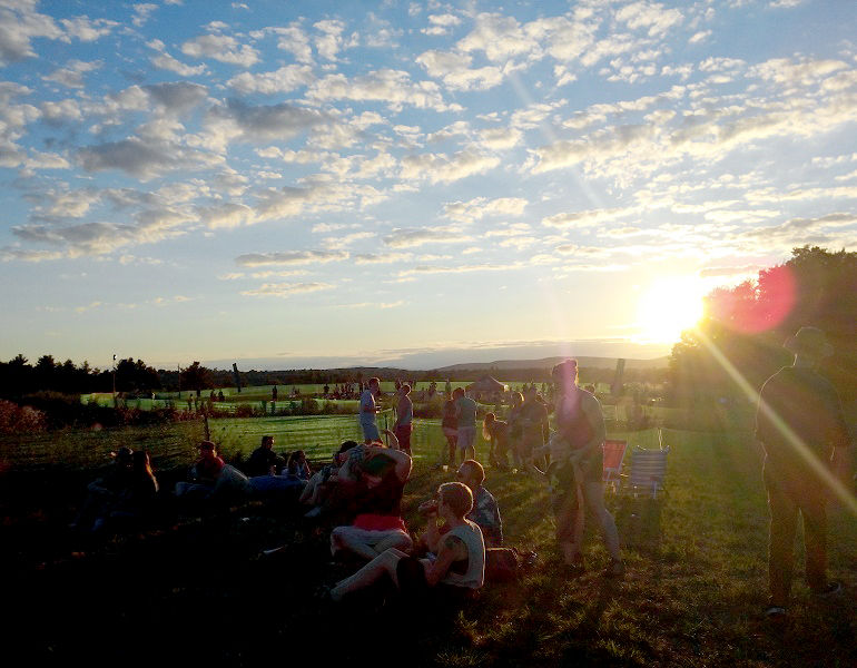 Vermont Sunset over Woodchuck Ciderstock