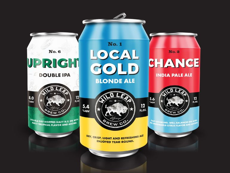 Wild Leap Brew Co. Debuts Cans